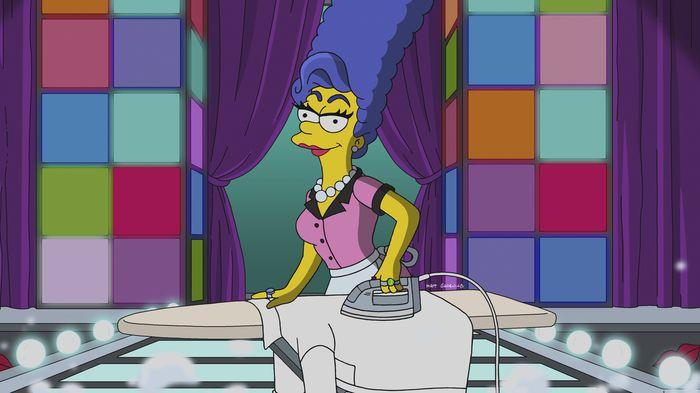 Imagen promocional de Los Simpson: Werking Mom