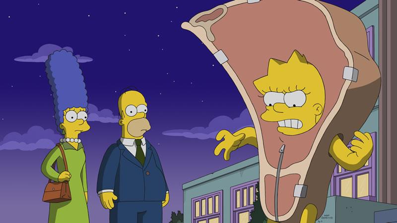 """Imagen promocional de la temporada 30 de Los Simpson: """"Daddicus Finch"""""""