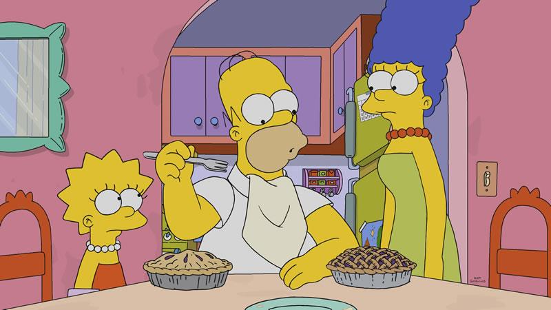 """Imagen promocional de Los Simpson: """"Daddicus Finch""""."""