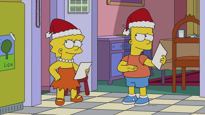 """Los Simpson, episodio: """"'Tis The 30th Season"""""""