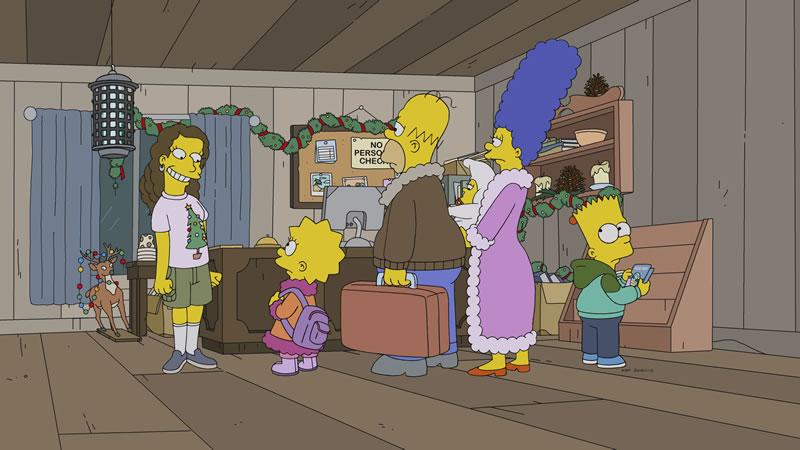 Imagen promocional de Los Simpson: 'Tis The 30th Season