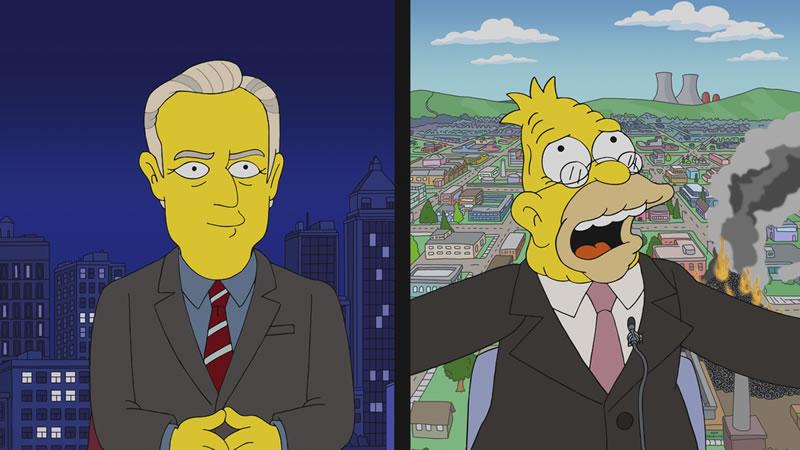 """Imagen promocional de Los Simpson: """"Mad About The Toy""""."""