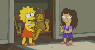 Estreno de Los Simpson en Norteamérica: The Girl On The Bus (30x12)