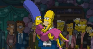 Estreno de Los Simpson en Norteamérica: I'm Dancing As Fat As I Can (30x13)