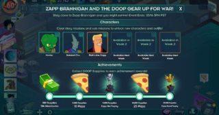 Nuevo minievento en Futurama: Mundos del Mañana - Zapp Brannigan and The Doop Gear Up For War!