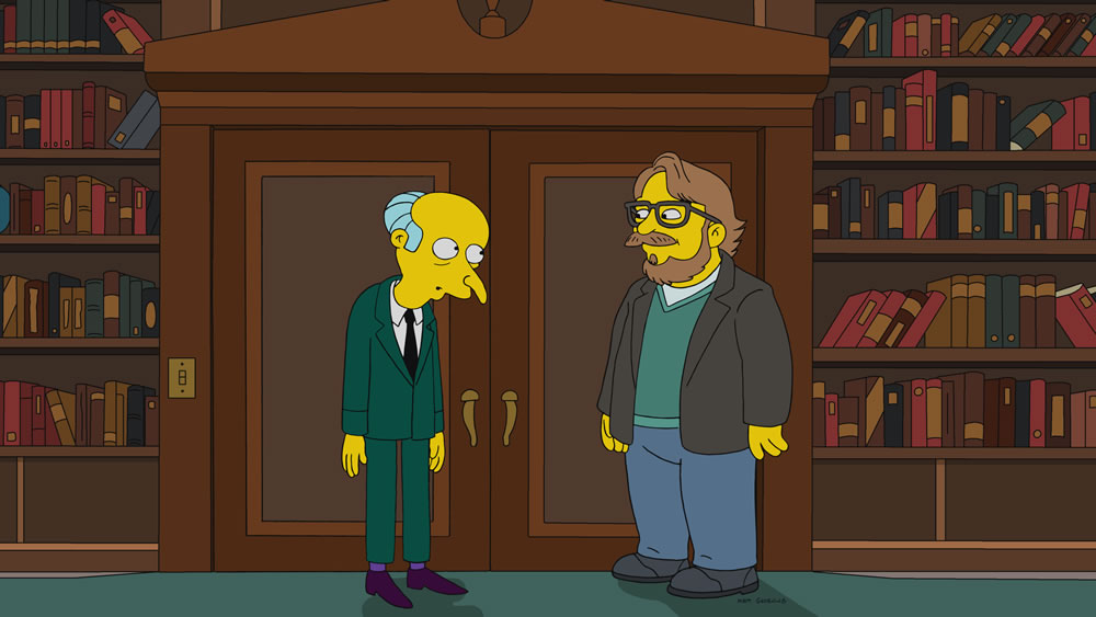 """Imagen promocional de la temporada 30 de Los Simpson: """"101 Mitigations"""""""