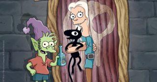 Los Simpson y (Des)encanto, en la San Diego Comic-Con 2018