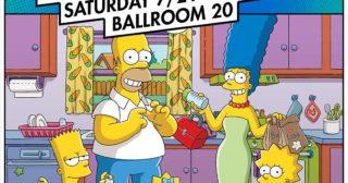 El panel de Los Simpson en la San Diego Comic-Con 2018