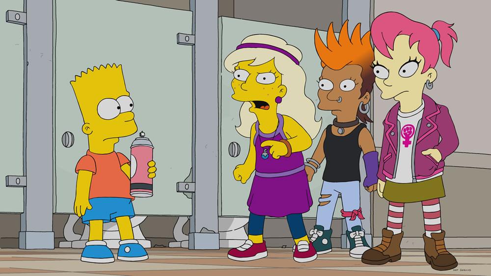 """Imagenes promocional de Los Simpson, temporada 30: """"Bart Vs. Itchy & Scratchy"""""""
