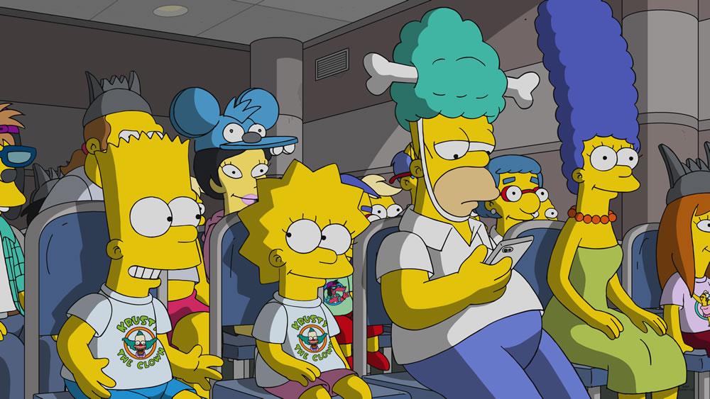 """Imagen promocional de la temporada 30 de Los Simpson: """"Bart Vs. Itchy & Scratchy"""""""