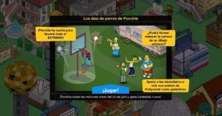 Nuevo minievento en Los Simpson: Springfield - Los días de perros de Poochie