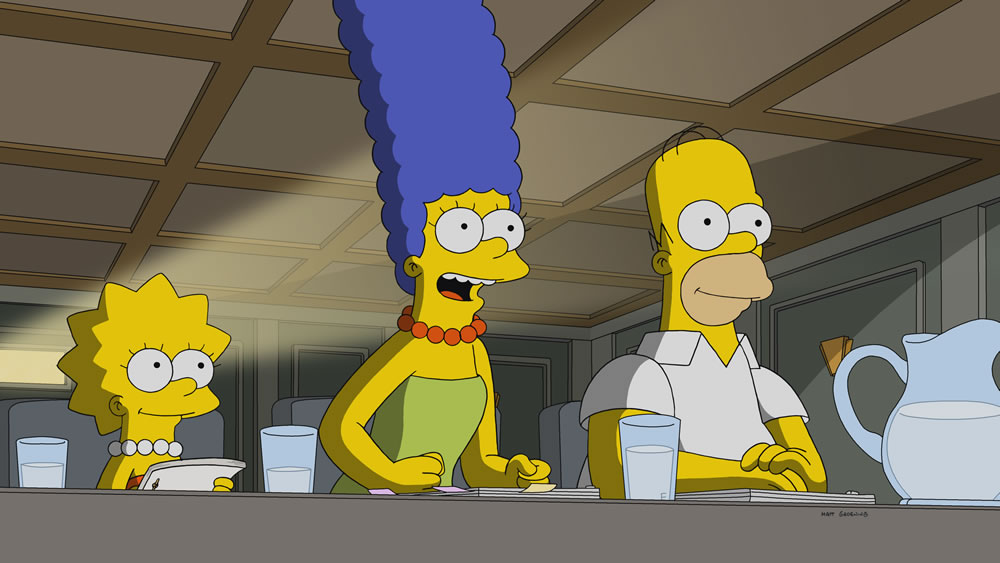 Imagen promocional de la temporada 30 de Los Simpson: I'm Just A Girl Who Can't Say D'oh