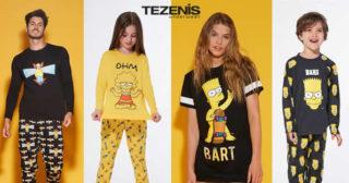 Nueva colección de Los Simpson en tiendas Tezenis de España