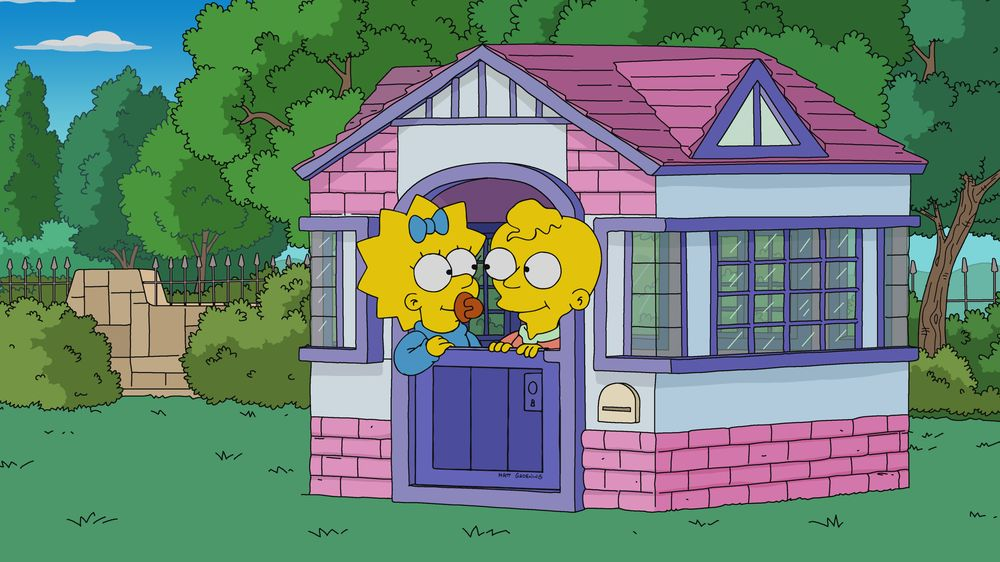 """Imagen promocional de la temporada 31 de Los Simpson: """"The Incredible Lightness Of Being A Baby""""."""