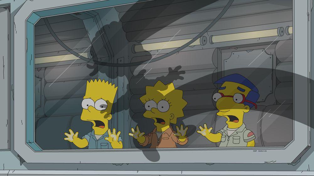 """Imagen promocional de la temporada 31 de Los Simpson: """"Thanksgiving Of Horror"""""""