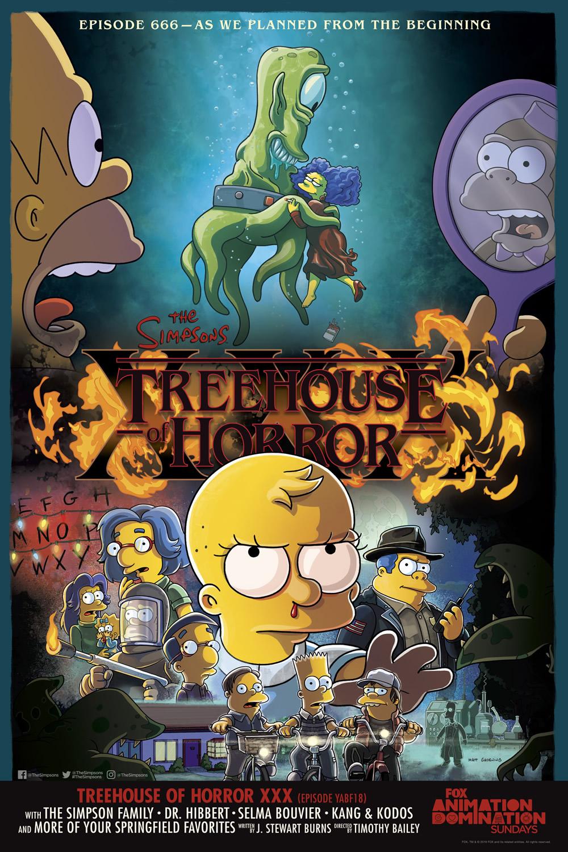 """Los Simpson - Temporada 31 - """"La Casa-Árbol Del Terror XXX"""""""