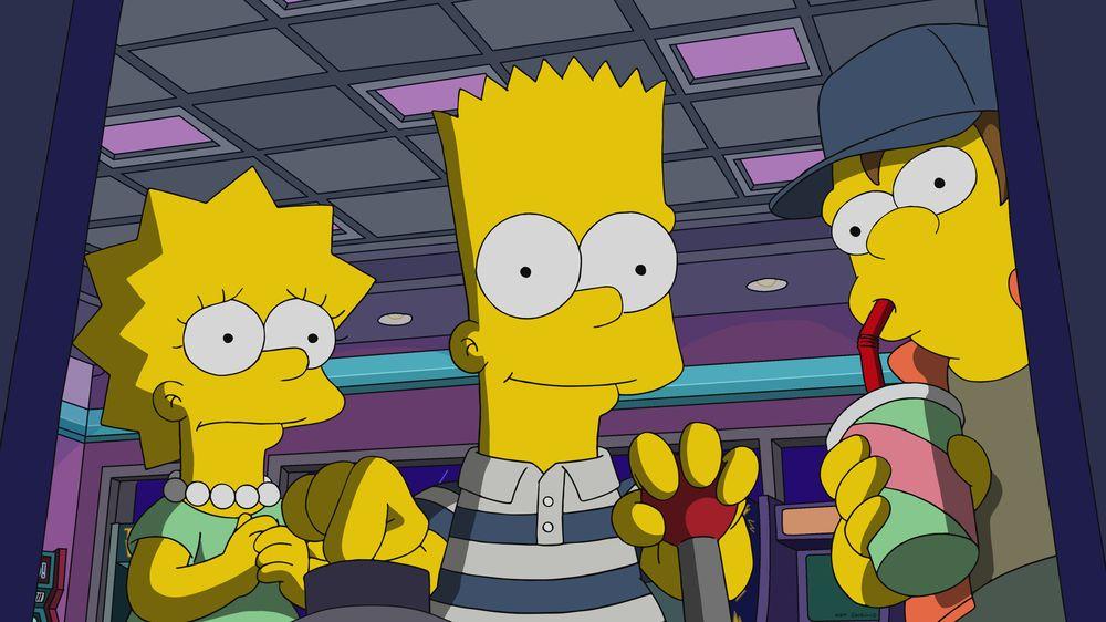 """Imagen promocional de la temporada 31 de Los Simpson: """"Treehouse Of Horror XXX"""""""