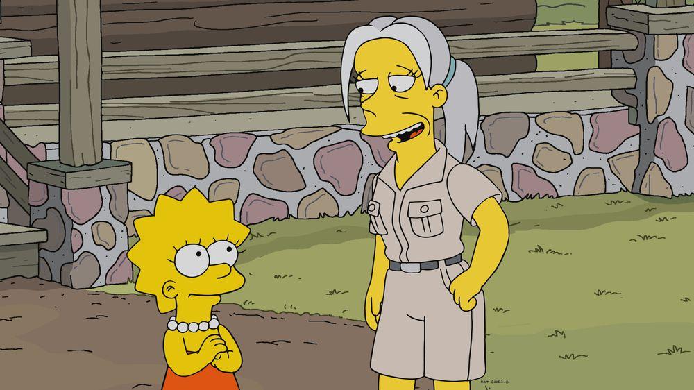 """Imagen promocional de la temporada 31 de Los Simpson: """"Gorillas On The Mast"""""""
