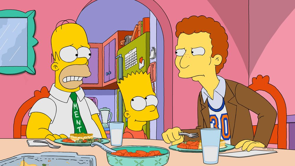 """Imagen promocional de la temporada 31 de Los Simpson: """"Go Big Or Go Homer"""""""