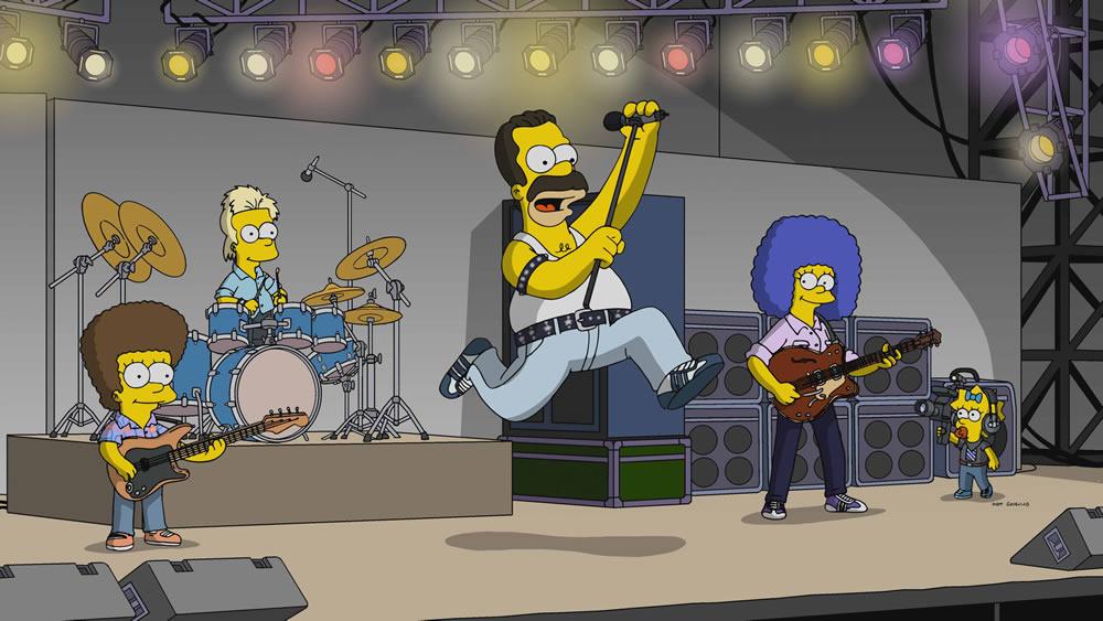 """Los Simpson - Temporada 31 - """"La Línea Gruesa Azul"""""""