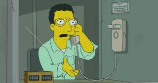 Estreno de Los Simpson en Norteamérica: «The Fat Blue Line» (31×03)