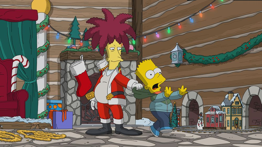 "Imagen promocional de la temporada 31 de Los Simpson: ""Bobby, It's Cold Outside"""