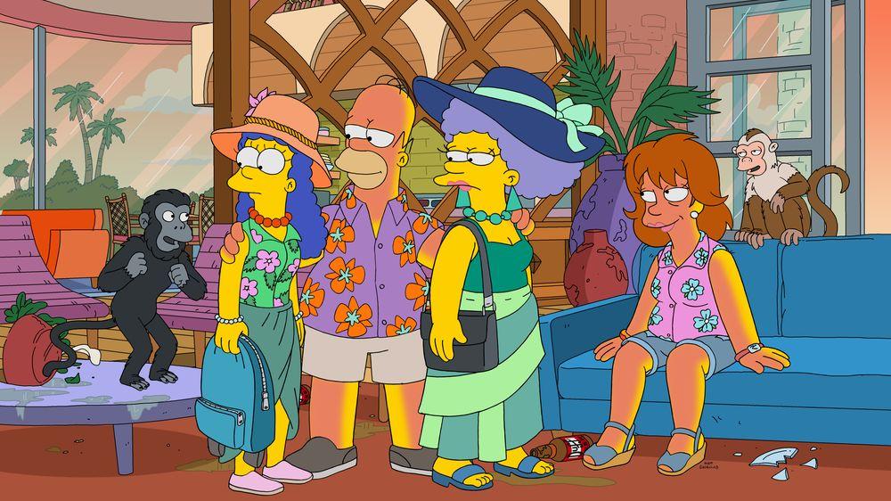 """Imagen promocional de la temporada 31 de Los Simpson: """"Livin' La Pura Vida"""""""
