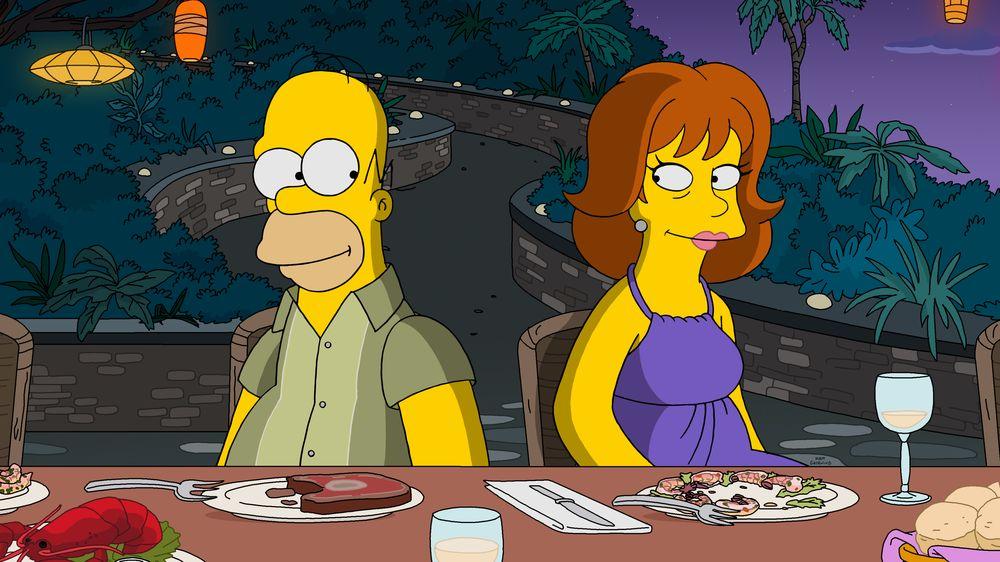 """Imagen promocionales de la temporada 31 de Los Simpson: """"Livin' La Pura Vida""""."""