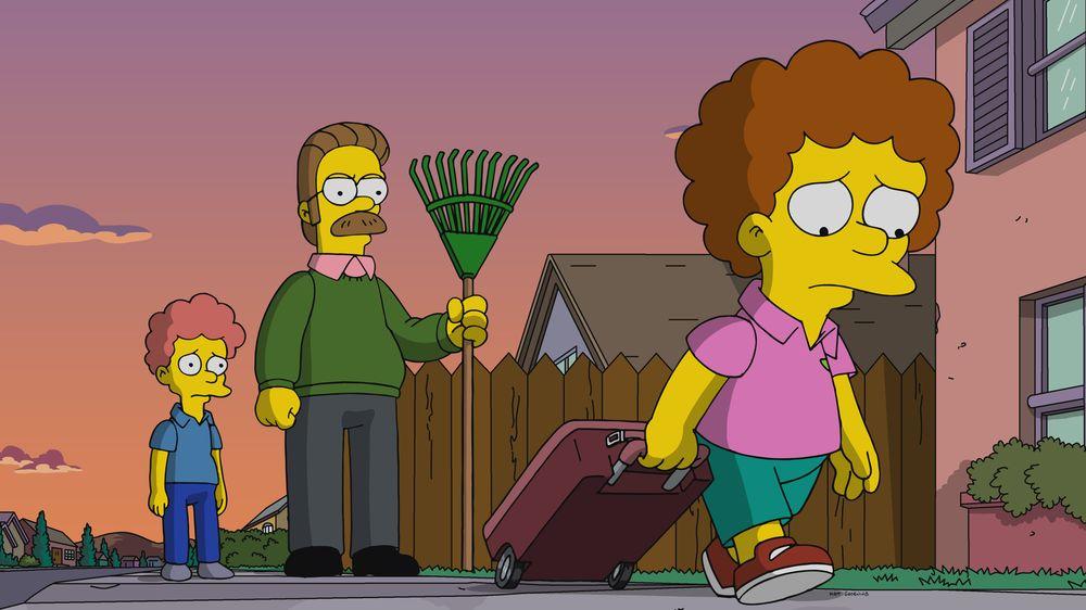 """Imagen promocional de la temporada 31 de Los Simpson: """"Todd, Todd, Why Hast Thou Forsaken Me"""""""