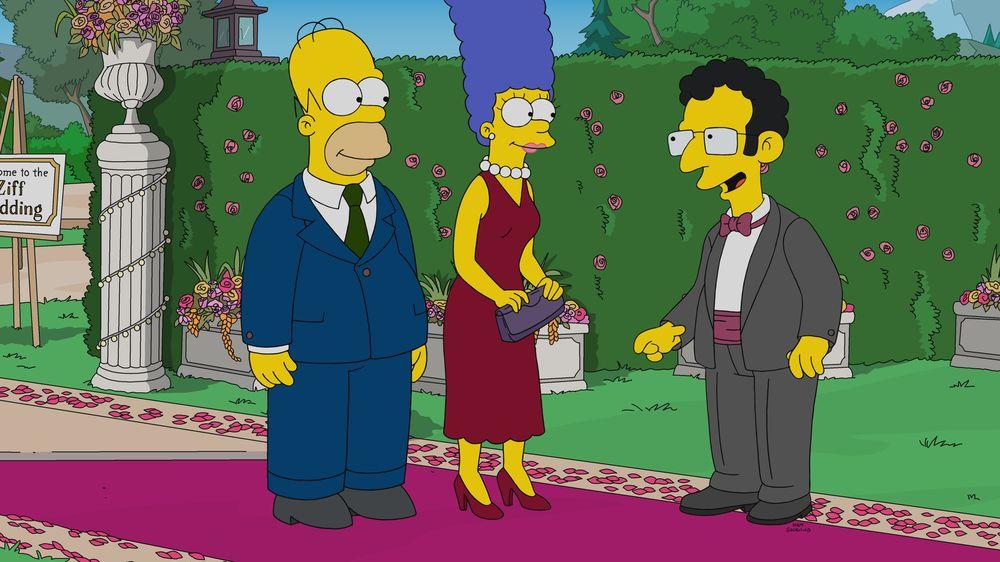 """Imagen promocional de la temporada 31 de Los Simpson: """"Hail To The Teeth""""."""