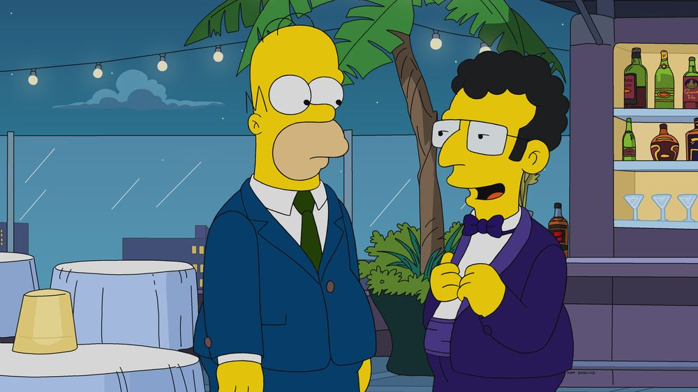 Imagen promcional de la temporada 31 de Los Simpson: Hail To The Teeth