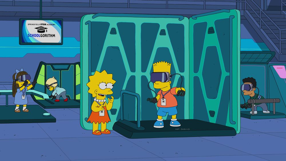 "Imagen promocional de la temporada 31 de Los Simpson: ""The Miseducation Of Lisa Simpson"""