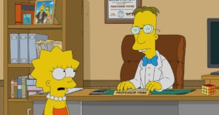 Estreno en abierto de Los Simpson en España: Frinkmoneda (31x13)