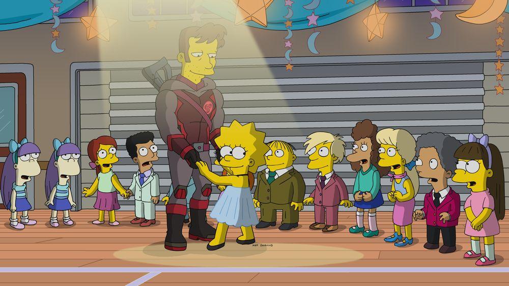 """Imagen promocional de la temporada 31 de Los Simpson: """"Bart The Bad Guy"""""""
