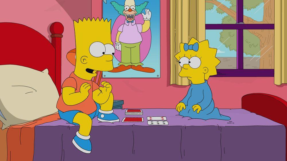 """Imagen promocional de la temporada 31 de Los Simpson: """"Screenless""""."""