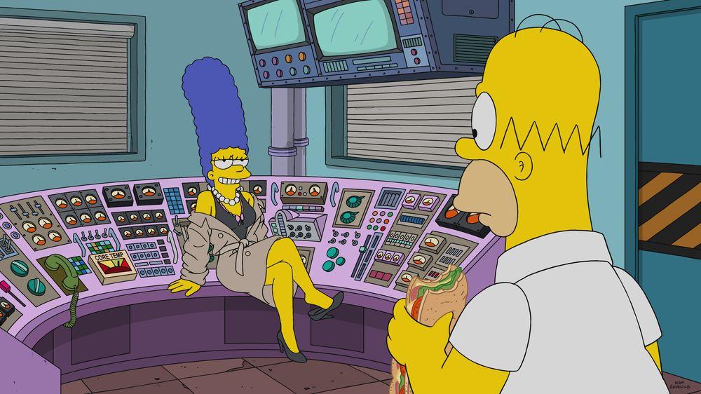 """Imagen promocional de la temporada 31 de Los Simpson: """"Highway To Well""""."""
