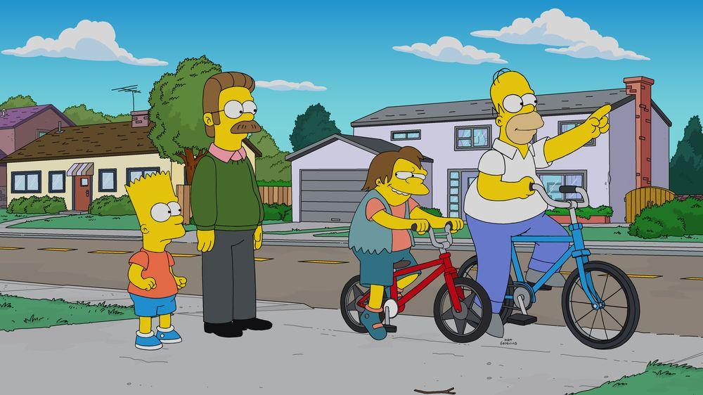 """Los Simpson - Temporada 31 - """"Ned Está Mejor"""""""