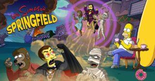 Nuevo evento en Los Simpson: Springfield - Casa-Árbol Del Terror XXIX