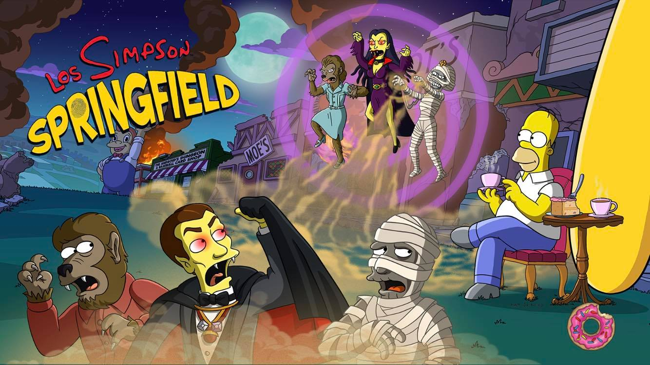 Los Simpson: Springfield - Halloween 2018