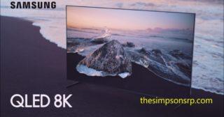 Anuncio de Samsung QLED 8K con los Homer y Marge españoles