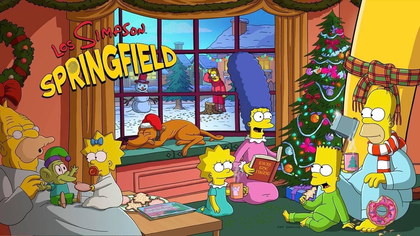 Los Simpson: Springfield - Especial de Navidad de Los Simpson
