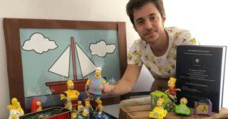 El periodista Alejandro Tovar realiza una tesis doctoral sobre Los Simpson