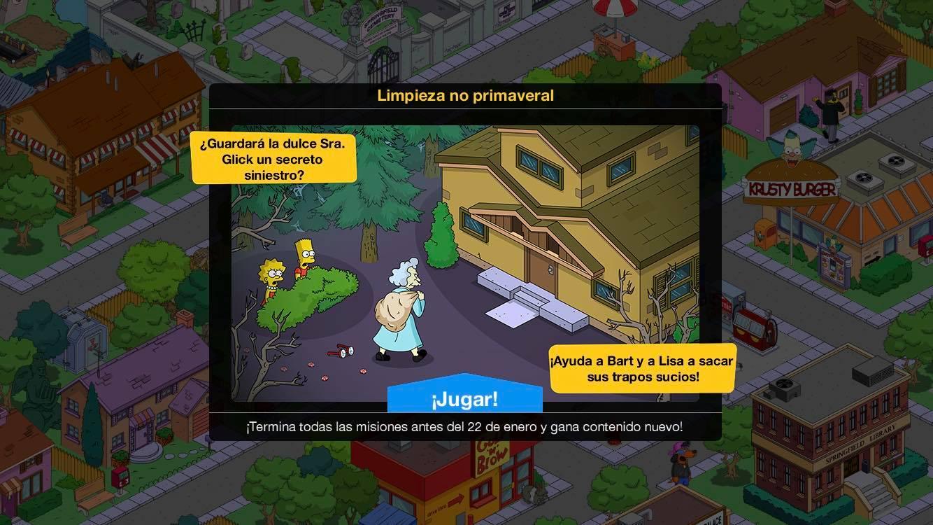 Los Simpson: Springfield - Limpieza no primaveral