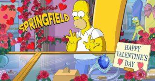 Nuevo evento en Los Simpson: Springfield - Amor al estilo Springfieldiano