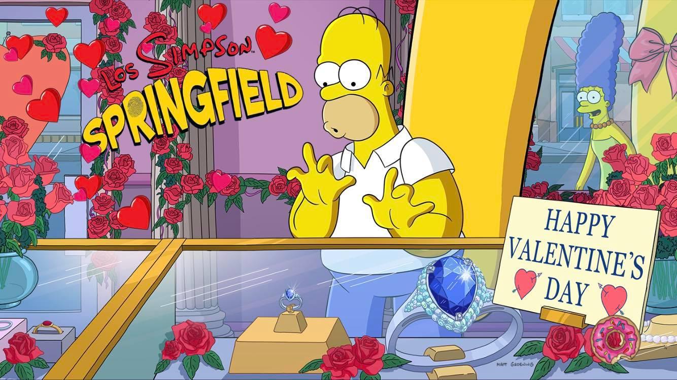 Los Simpson: Springfield - Amor al estilo Springfieldiano