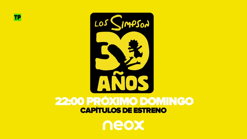 Especial 30º aniversario de Los Simpson en Neox
