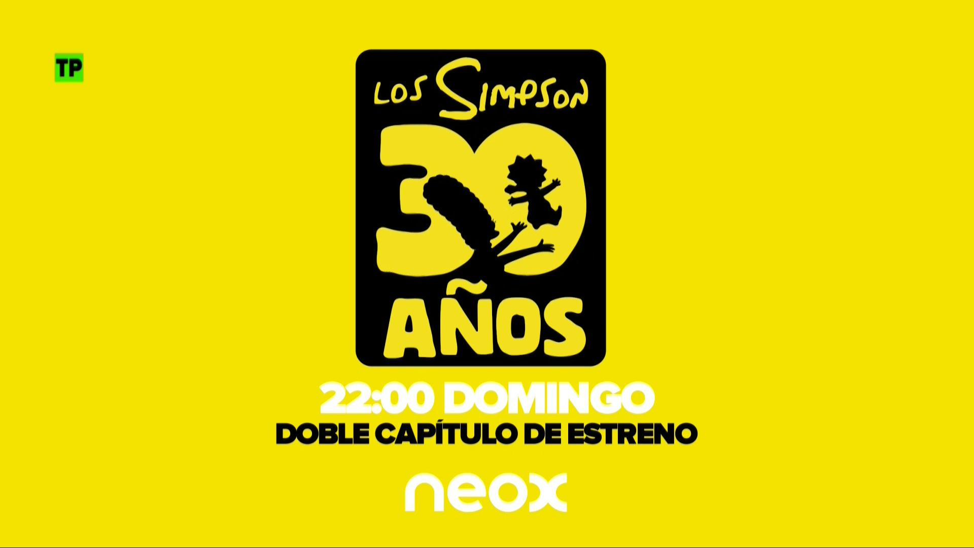 Especial 30º aniversario de Los Simpson en Neox: Dos estrenos