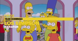 Neox emitirá mañana un maratón de 30 episodios por el 30º aniversario de Los Simpson