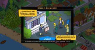 Nuevo minievento en Los Simpson: Springfield - Estado de desesperación