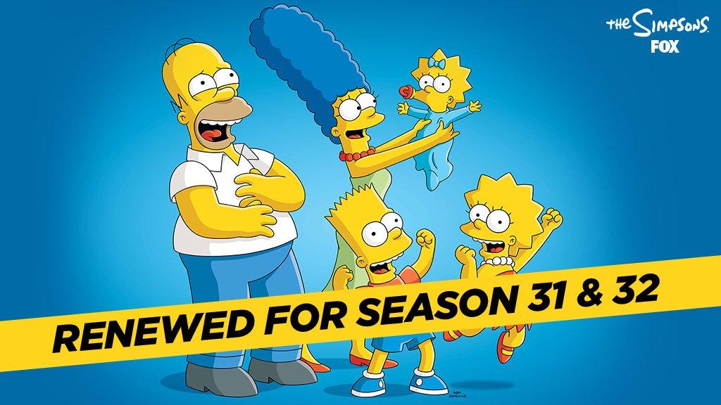 Los Simpson, renovada para las temporadas 31 y 32